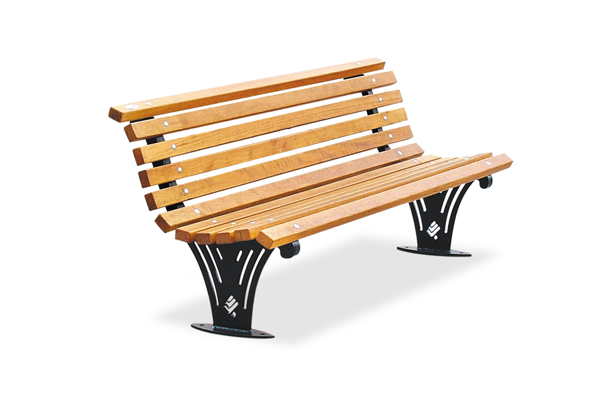 Panchina ariete legno shop plateatico it for Legno arredo